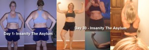 30 day results of Insanity The Asylum