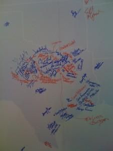 Team Beachbody End the Trend Map
