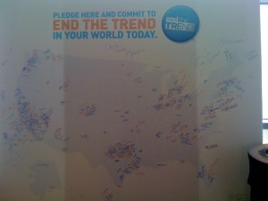 Team Beachbody End The Trend Large Map