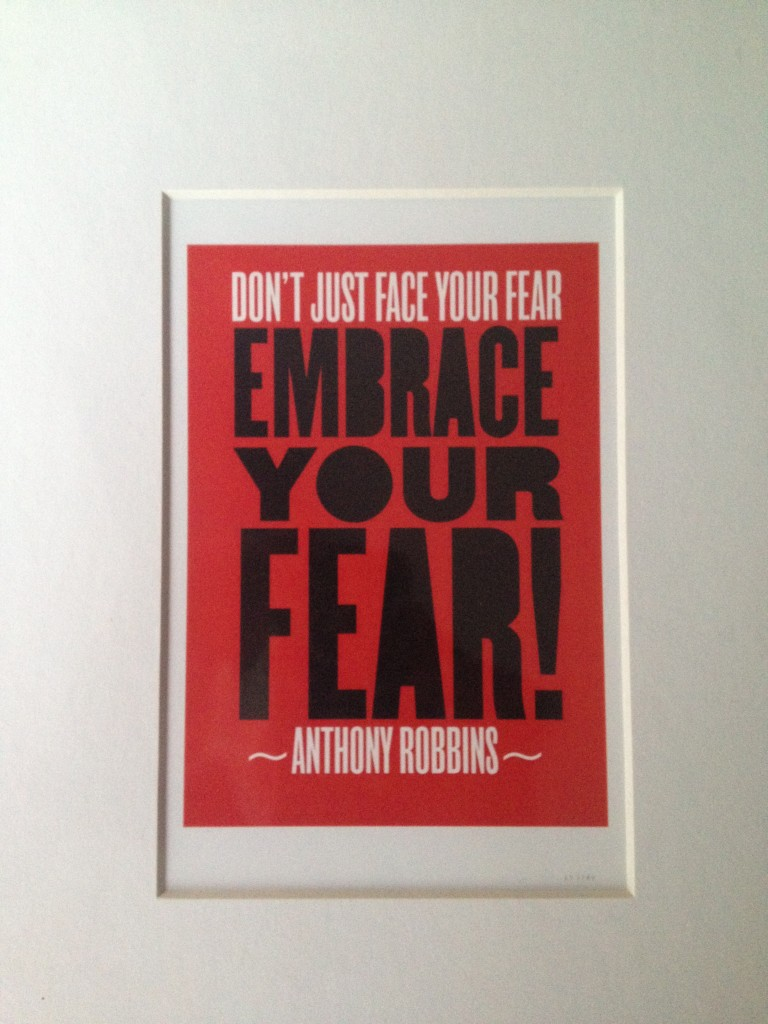 Embrace Your Fear _