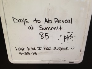 Ab reveal countdown