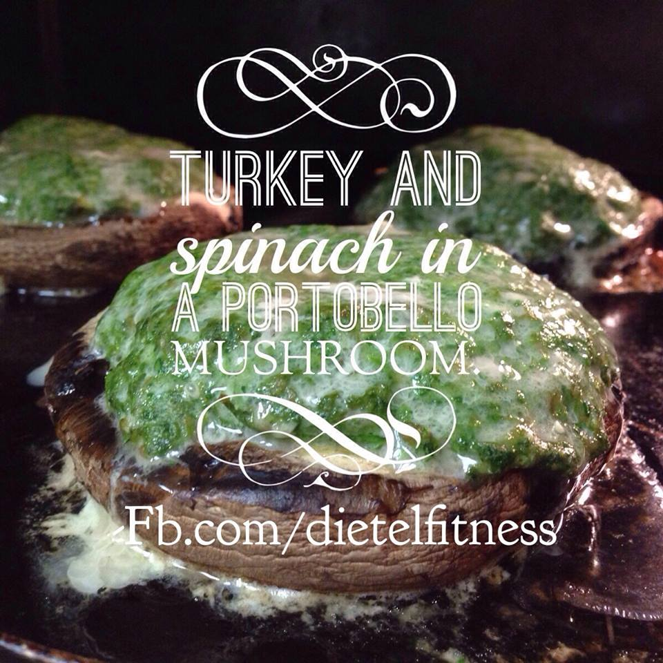 Turkey Spinach and Portobello