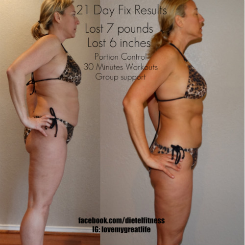 Before & After 21 Day Fix