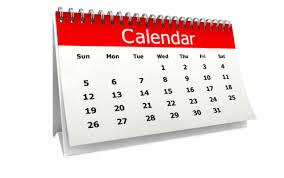 Heathers calendar